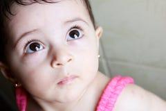 Menina recém-nascida Imagem de Stock