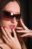 Menina Red-haired imagens de stock royalty free