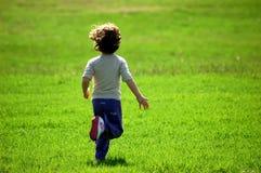 Menina Running Imagem de Stock