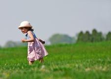 Menina Running Fotos de Stock Royalty Free