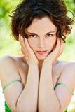 Menina saudável ao ar livre Foto de Stock Royalty Free