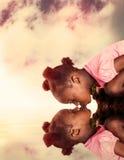 Menina sedento Imagem de Stock Royalty Free