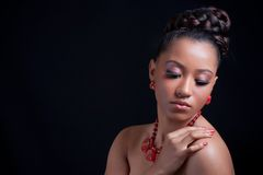Menina sensual bonita Fotos de Stock Royalty Free