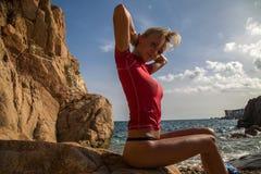 Menina 'sexy' Fotografia de Stock
