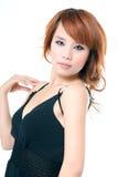 Menina 'sexy' chinesa Imagem de Stock Royalty Free