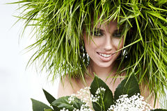 Menina 'sexy' da ecologia Imagens de Stock