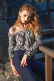 Menina 'sexy' da forma fotos de stock royalty free