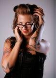 Menina 'sexy' de Rockabilly Fotografia de Stock Royalty Free