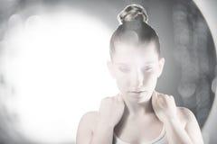 Menina 'sexy' do cosmético da forma Foto de Stock