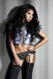 Menina 'sexy' do mulato Foto de Stock