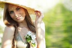 Menina 'sexy' do verão Foto de Stock