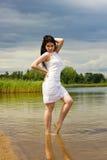 Menina 'sexy' do verão Fotografia de Stock Royalty Free