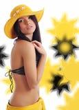 Menina 'sexy' do verão Fotos de Stock