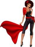 Menina 'sexy' matador Foto de Stock Royalty Free