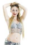 Menina 'sexy' no short Fotografia de Stock