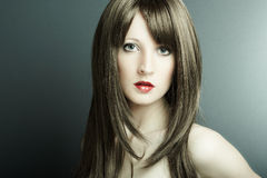 A menina 'sexy' nova Fotografia de Stock
