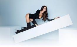 Menina 'sexy' nova Fotos de Stock