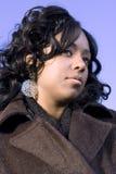 Menina sonhadora Foto de Stock Royalty Free