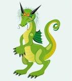 Menina tímida do dragão. Fotografia de Stock