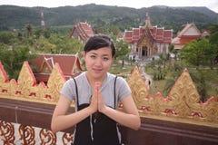 Menina tailandesa Imagem de Stock