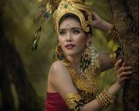 Menina tailandesa fotos de stock