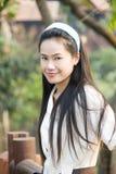 Menina tailandesa bonita Imagem de Stock Royalty Free