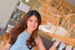 Menina tailandesa do retrato Fotografia de Stock