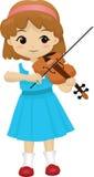 Menina talentoso 2 (nenhum fundo) Imagem de Stock Royalty Free