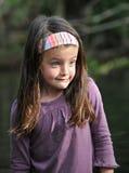 Menina terrificada Foto de Stock Royalty Free