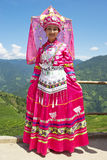 Menina étnica chinesa no vestido tradicional Fotos de Stock