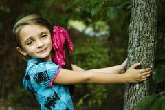 Menina triguenha bonita Imagens de Stock
