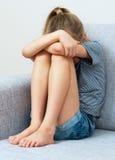 Menina triste Foto de Stock