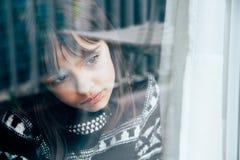 Menina triste Foto de Stock Royalty Free
