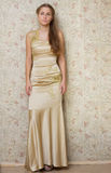 Menina triste bonita no vestido Foto de Stock Royalty Free