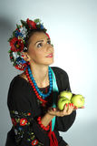 Menina ucraniana Imagem de Stock