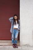 Menina urbana do estilo Imagem de Stock Royalty Free
