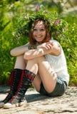 Menina-verão Fotos de Stock