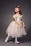Menina vestida acima como de uma princesa Imagens de Stock Royalty Free