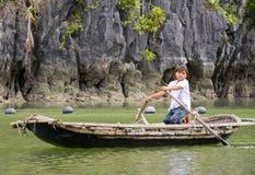 Menina vietnamiana Imagem de Stock