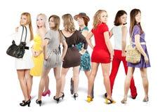 Meninas à moda Fotos de Stock Royalty Free