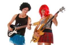 Meninas 1 da rocha de Glam Imagens de Stock