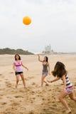 Meninas adolescentes desportivas Imagem de Stock