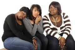 Meninas adolescentes furadas Fotografia de Stock Royalty Free