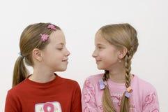 Meninas/amizade Fotos de Stock Royalty Free