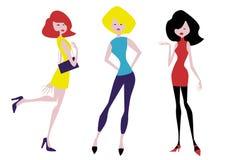 Meninas bonitas Imagem de Stock