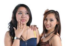 Meninas bonitas Foto de Stock Royalty Free