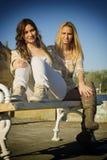 Meninas bonitas Imagens de Stock Royalty Free