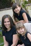 Meninas bonitas Fotografia de Stock Royalty Free