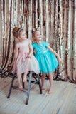 Meninas bonitas Fotos de Stock Royalty Free