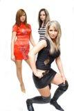 Meninas bonitas da forma Imagem de Stock Royalty Free